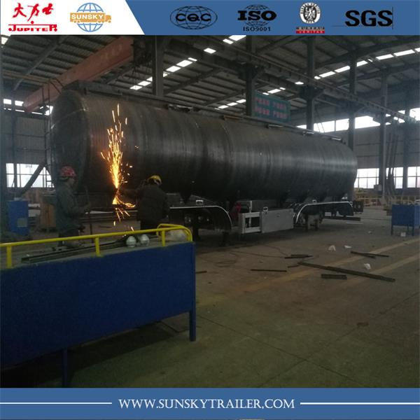 Fuel tanker trailer production