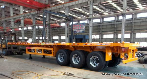 40FT FLAT BED TRAILER