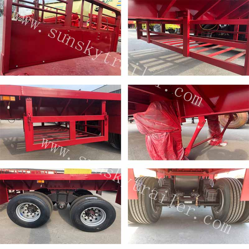 45ft flatbed trailer
