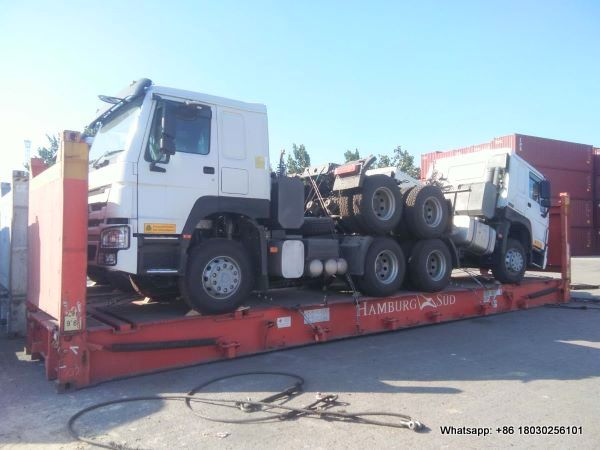 howo tractor truck export zambia