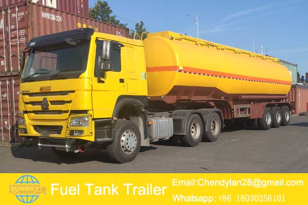 fuel tanker trailer for sale