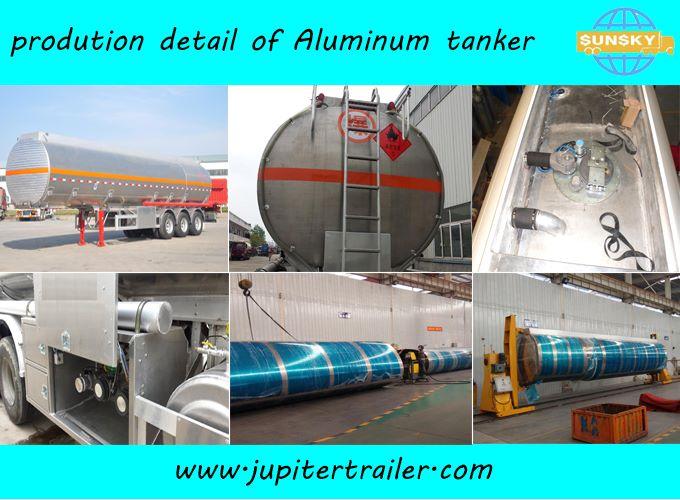 aluminum tanker trailer