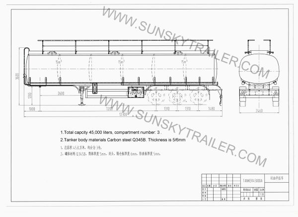 fuel tanker trailer design