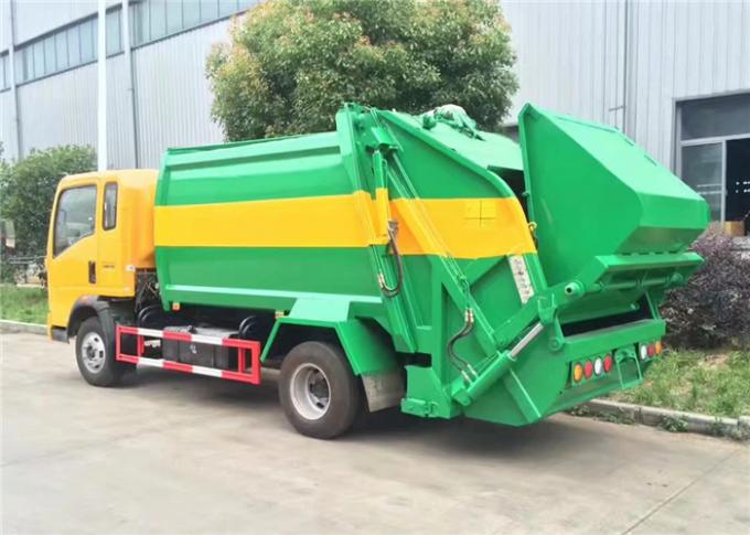 HOWO COMPACTOR GARBAGE TRUCK