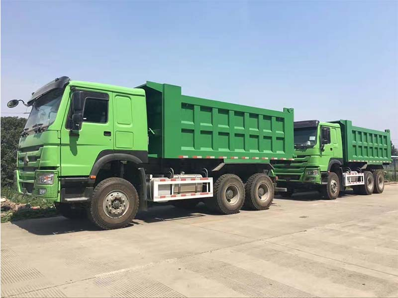 tipper trailer truck