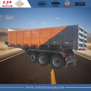 Tri Axle Dumper Semi Trailer