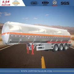 3-axle Aluminum Tanker semi-trailer with airbag suspension