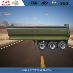Sunsky brand 3-axle U shape tipper trailer
