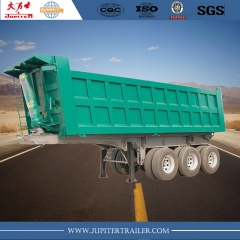 Sunsky brand 3-axle square tipper semi-trailer