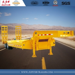 Sunsky brand 2-axle lowbed semi-trailer for transporting equipment