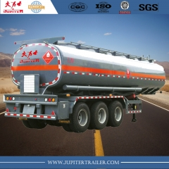 Sunsky brand 40,000L carbon steel fuel tanker semi-trailer