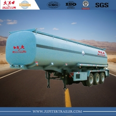 Chinese brand 40cbm carbon steel oil tanker trailer