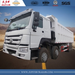 HOWO Brand New 371HP 12 wheels Dump Truck