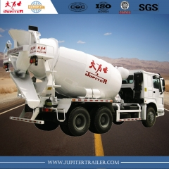 CHINA HOWO CONCRETE MIXER TRUCK WITH 10CBM