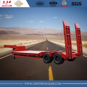 We supply kinds of 2axle, 3-axle, 4 axle lowbed semi-trailer