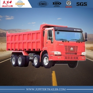 China HOWO Brand  371HP 12 Wheels Dump Truck