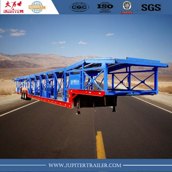 3 Axles Car Carrier Trailer