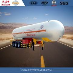 3 Axle Liquid Natural Gas Tank Semi-Trailer