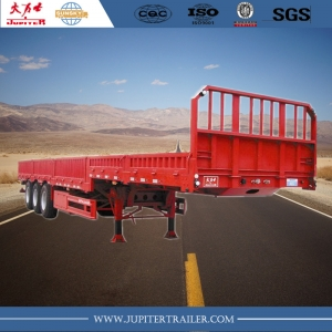 We supply kinds of dropside, siding, side wall semi-trailers