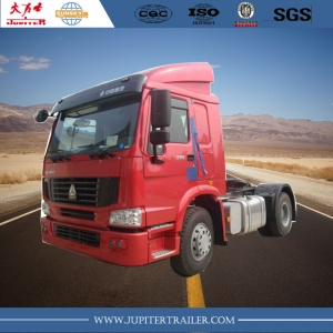 sinotruk howo 4x2 tractor truck tractor head 371 HP