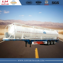 bulk powder cement tank trailer
