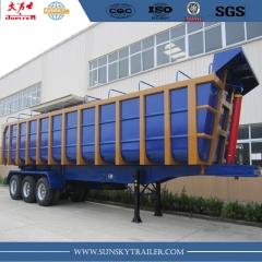 Sunsky brand 40CBM U shape Dump&Tipper trailer for Mauritania