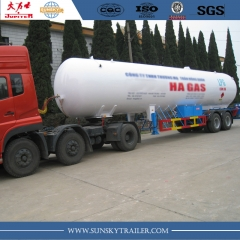 LPG Tanker trailer for Vietnam,Philippines
