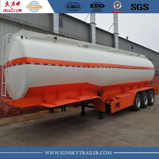45,000 liters fuel tanker trailer