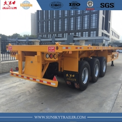 40 FT flatbed semi-trailer