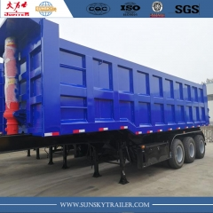Chinese brand 3-axle tipper trailer
