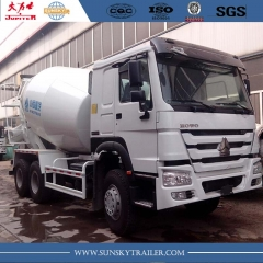 HOWO Brand 10CBM 6X4 Concrete Mixer Truck with 371HP engine