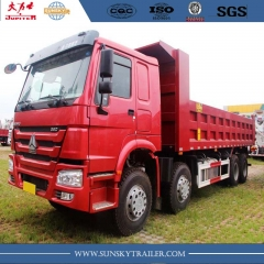 China HOWO Brand  380HP 12 Wheels Dump Truck