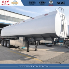 40 cbm Carbon Steel Fuel tanker trailer