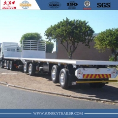 Interlink flat bed trailer to transport container for Zambia market