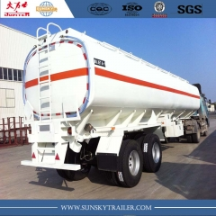 Jet fuel tanker semi-trailer to transport aviation fuel JET A-1
