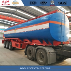 42000 liters fuel tanker trailer