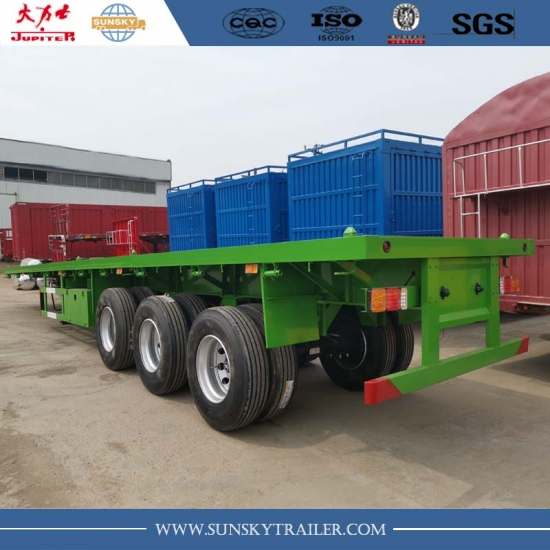 40FT flatbed trailers