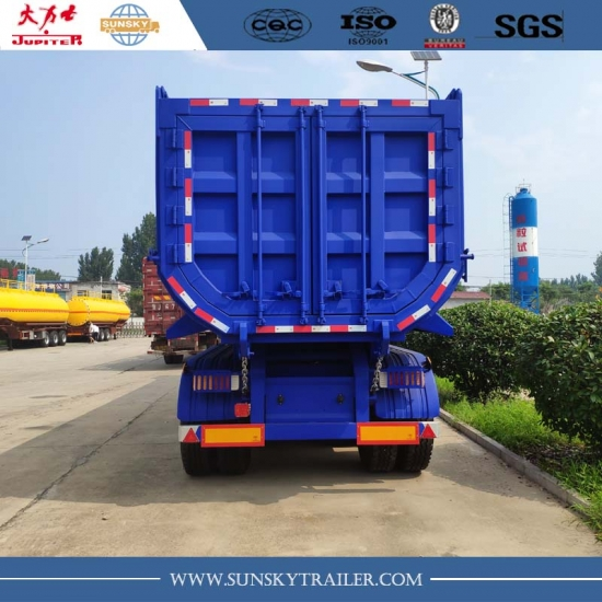 4 Axle Dump Trailer supplier and manufacturer