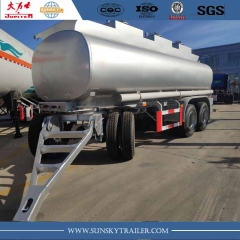 3 Axle drawbar tanker trailer for sale
