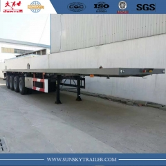 4 axle flatbed trailer