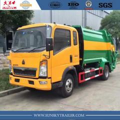 HOWO 12CBM COMPACTOR GARBAGE TRUCK