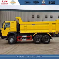 Howo mining dump truck supplier