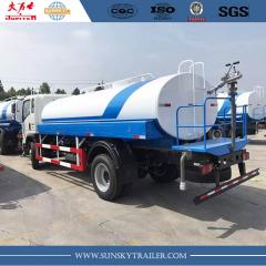 4×2 12000L light sprinkler truck HOWO brand for sale