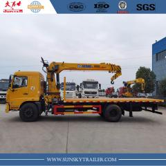 4X2 Dongfeng Boom truck China Supplier