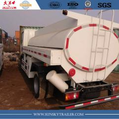 10,000Liter SINOTRUK HOWO 4x2 fuel bowser truck supplier