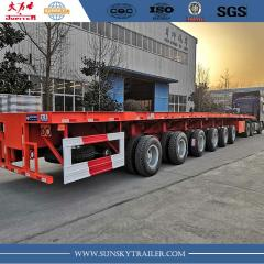 62m 6 axle wind blade trailer