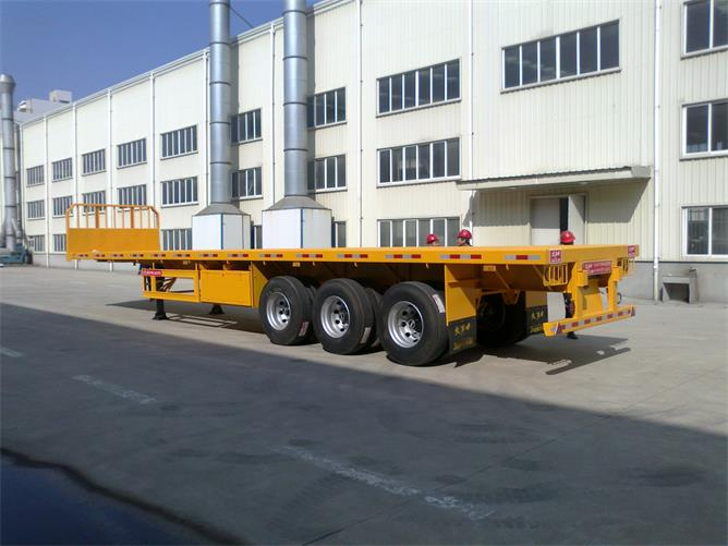 SUNSKY FLAT BED TRAILER,BETTER TO TRANSPORT CONTAINER