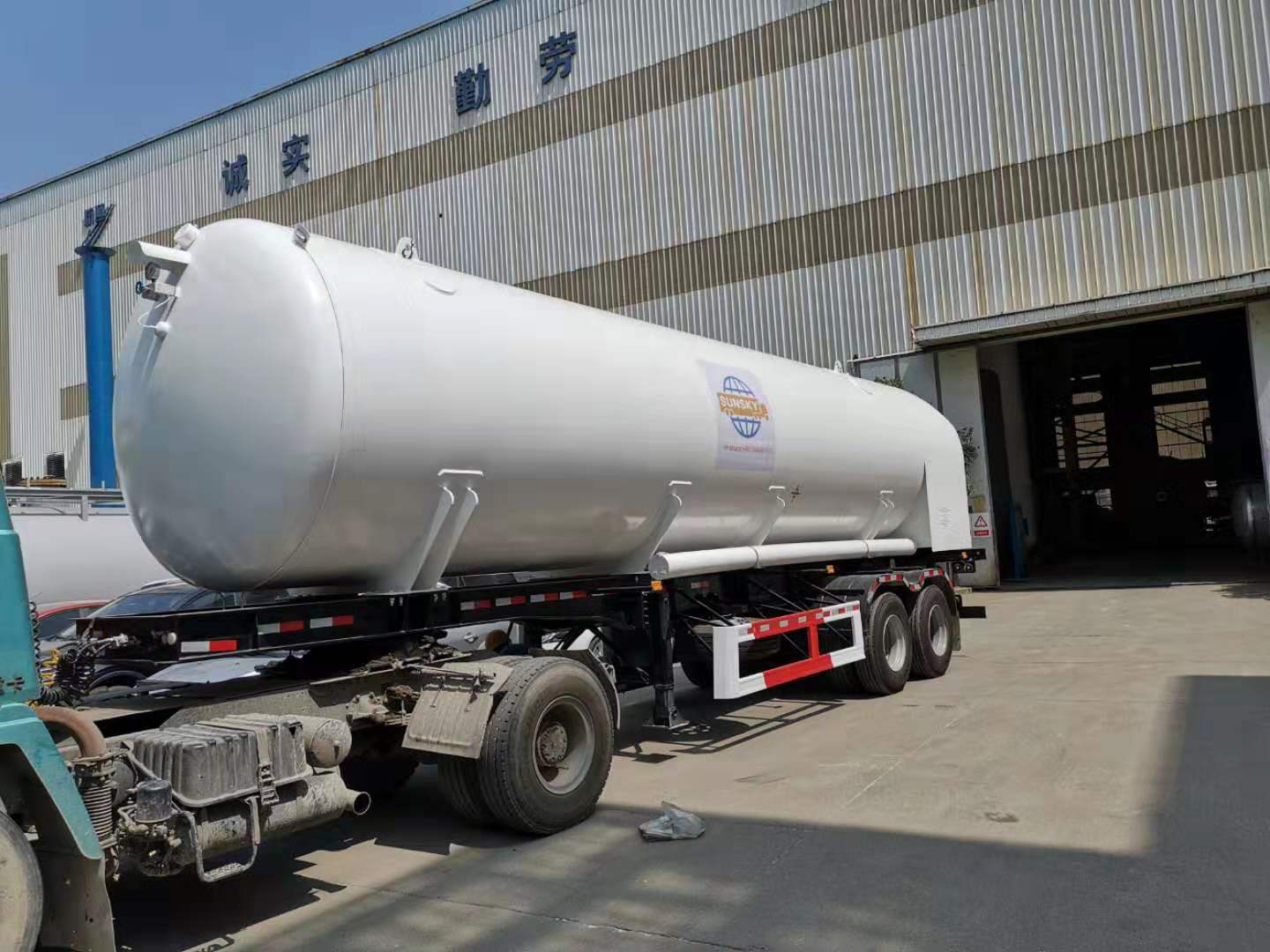 LCO2 Tanker Trailer Export to Zambia