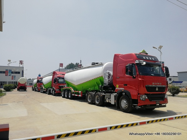 3 units Bulk cement trailer deliver to Algeria
