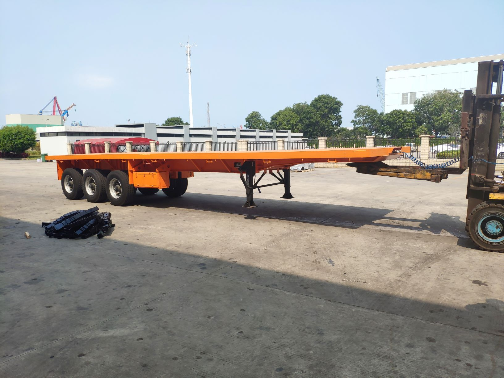 4 Units Container Trailers Exported To Tanzania